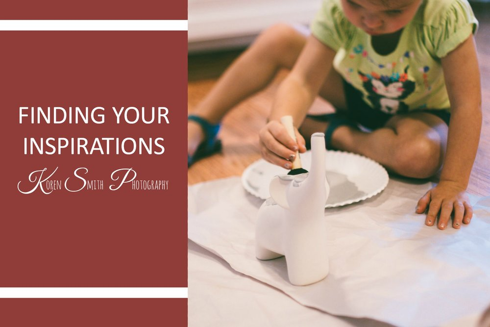 Finding Your INspirations - August 14, 2017My work has been feeling the same lately. I feel like I take the same photos of the same thing. This week I felt like I lost some momentum and drive to take my daily photos. I was so focused on techniques...
