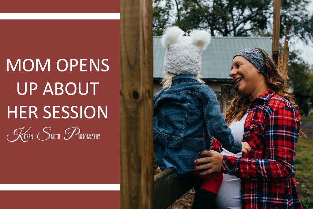 Mom Opens up about her session - Earlier last week, I had the opportunity to photograph a Documentary Maternity session for this wonderful soon-to-be second-time mommy with her daughter, Rilynn.