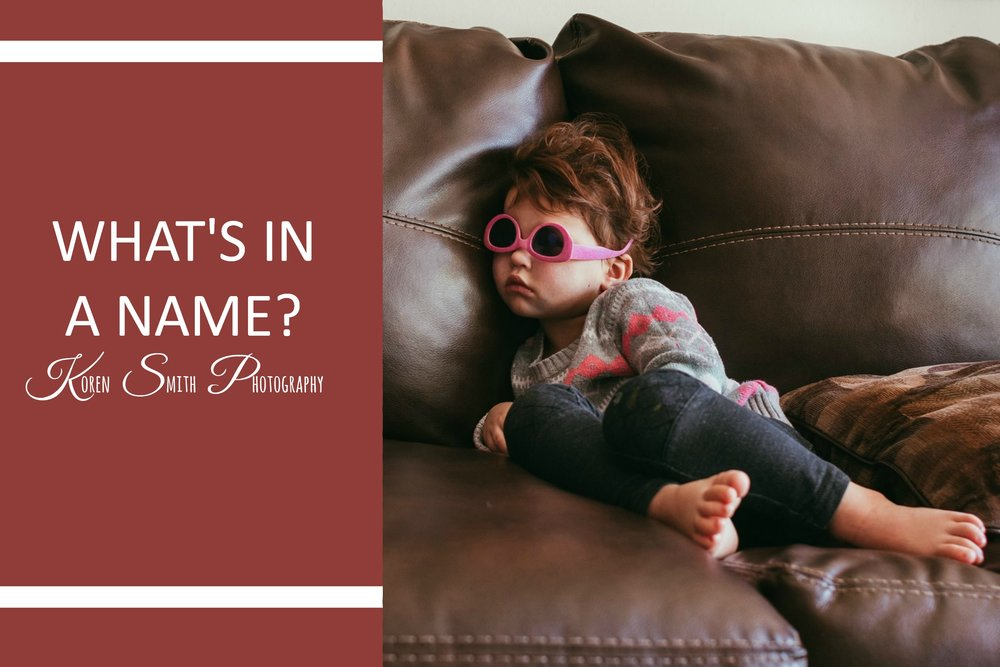 What's in a Name? - The first part to my month long Joyfulness November. This week I reflect on my daughter and what about her brings me joy.