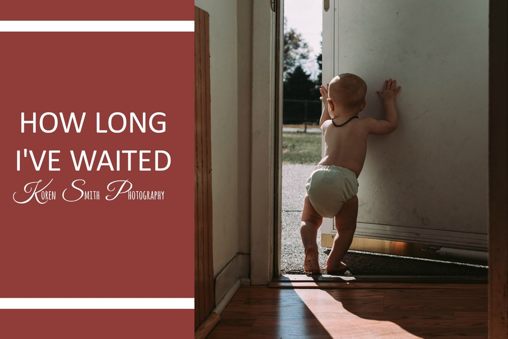 How Long I've waited - The second part to my month long Joyfulness November. This week I reflect on my son and what about him brings me joy.