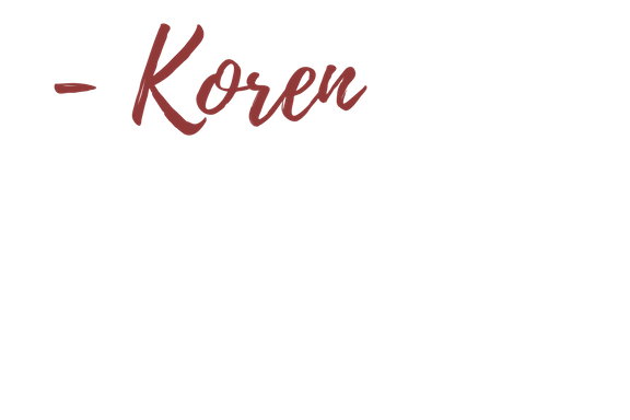 Koren smith photography name in red