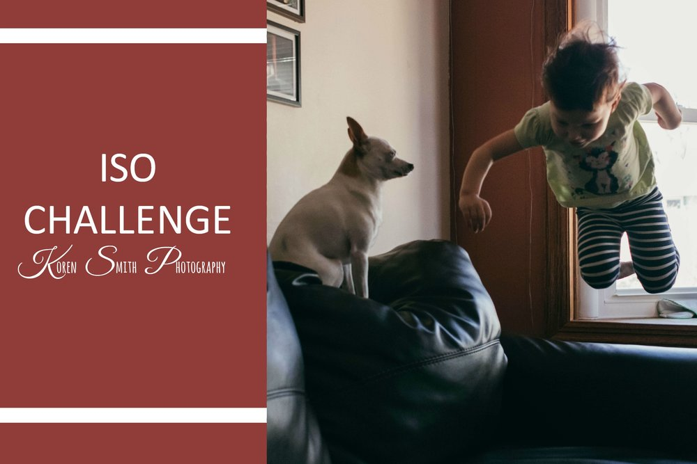 ISO cHALLENGE - I talk about a challenge I participated in through a Facebook group to help push past my comfort zone.