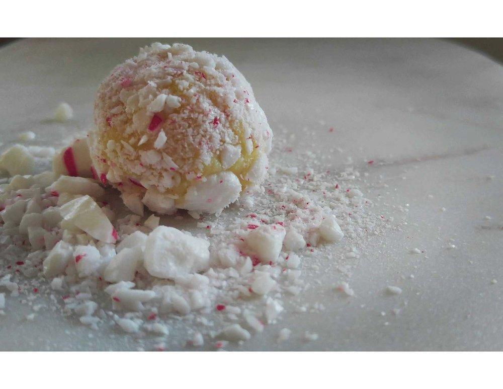 White Chocolate Peppermint Truffle