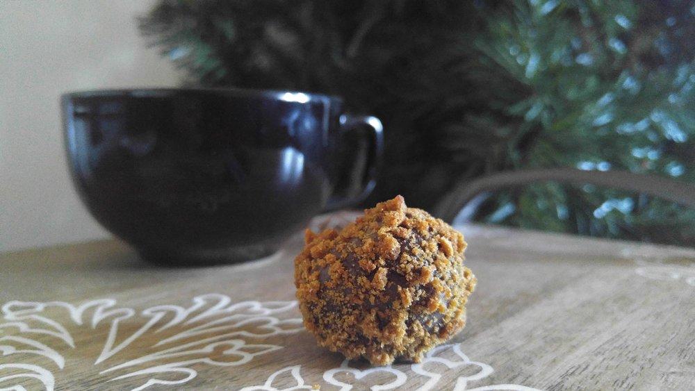 Milk Chocolate Gingerbread Truffle