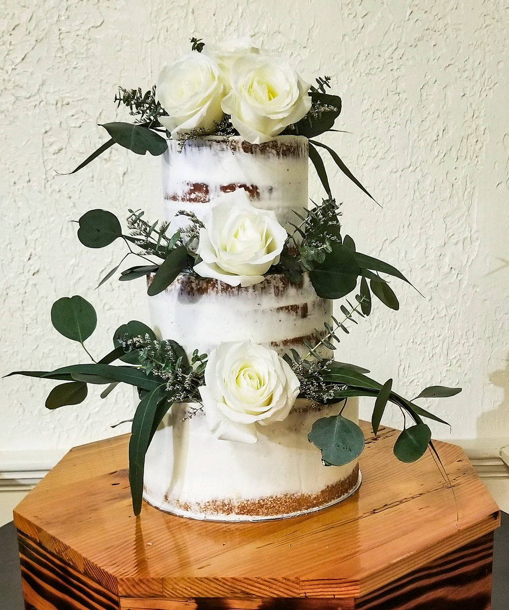THREE TIER CAKES - 6, 8, and 10 inch three tier cakes start at $450 and serve Approximately 30-48 party servings or up to 78 wedding dessert servingsthree tier cakes with tall tiers are available - please inquire for pricingplease contact for a wedding cake quote or consultation as each custom designed and prices can vary