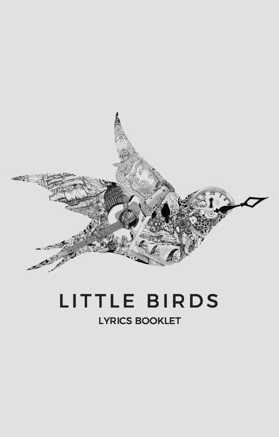 Little Birds Lyrics Booklet