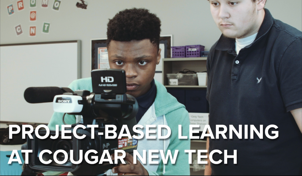 By making learning relevant, students see a purpose for mastering state-required skills and content concepts. Learn more about project-based learning at Cougar New Tech.