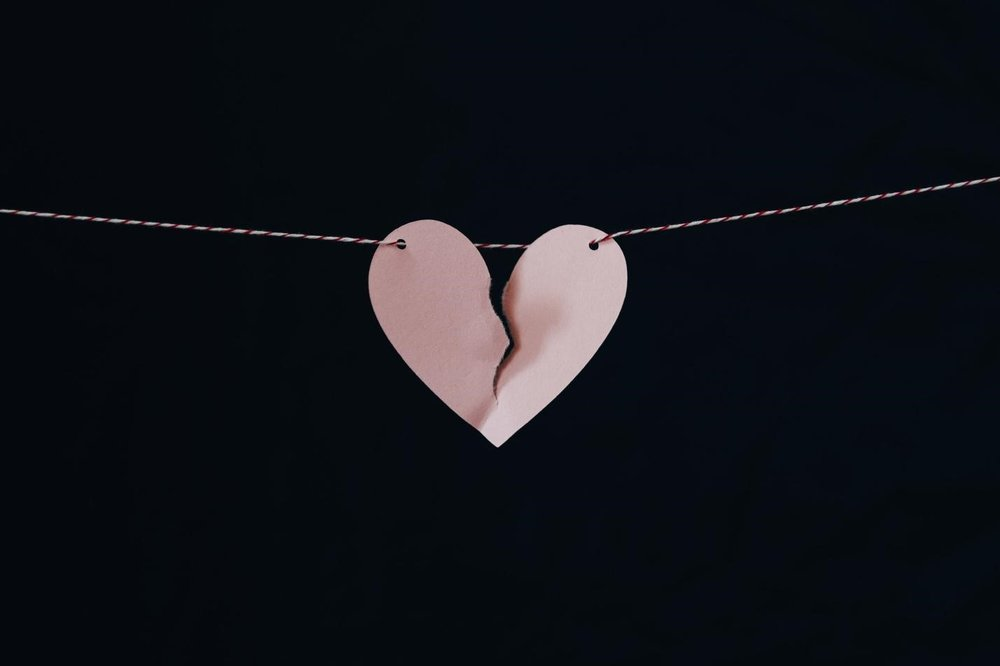 Heart Hanging on by a Thread / Kelly Sikkema
