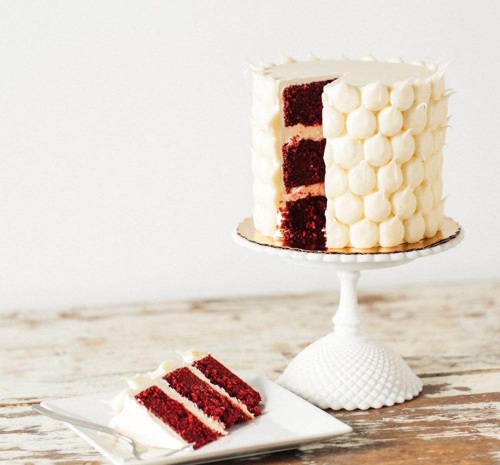 Red Velvet - Red Velvet Cake, Cream Cheese Filling and Frosting