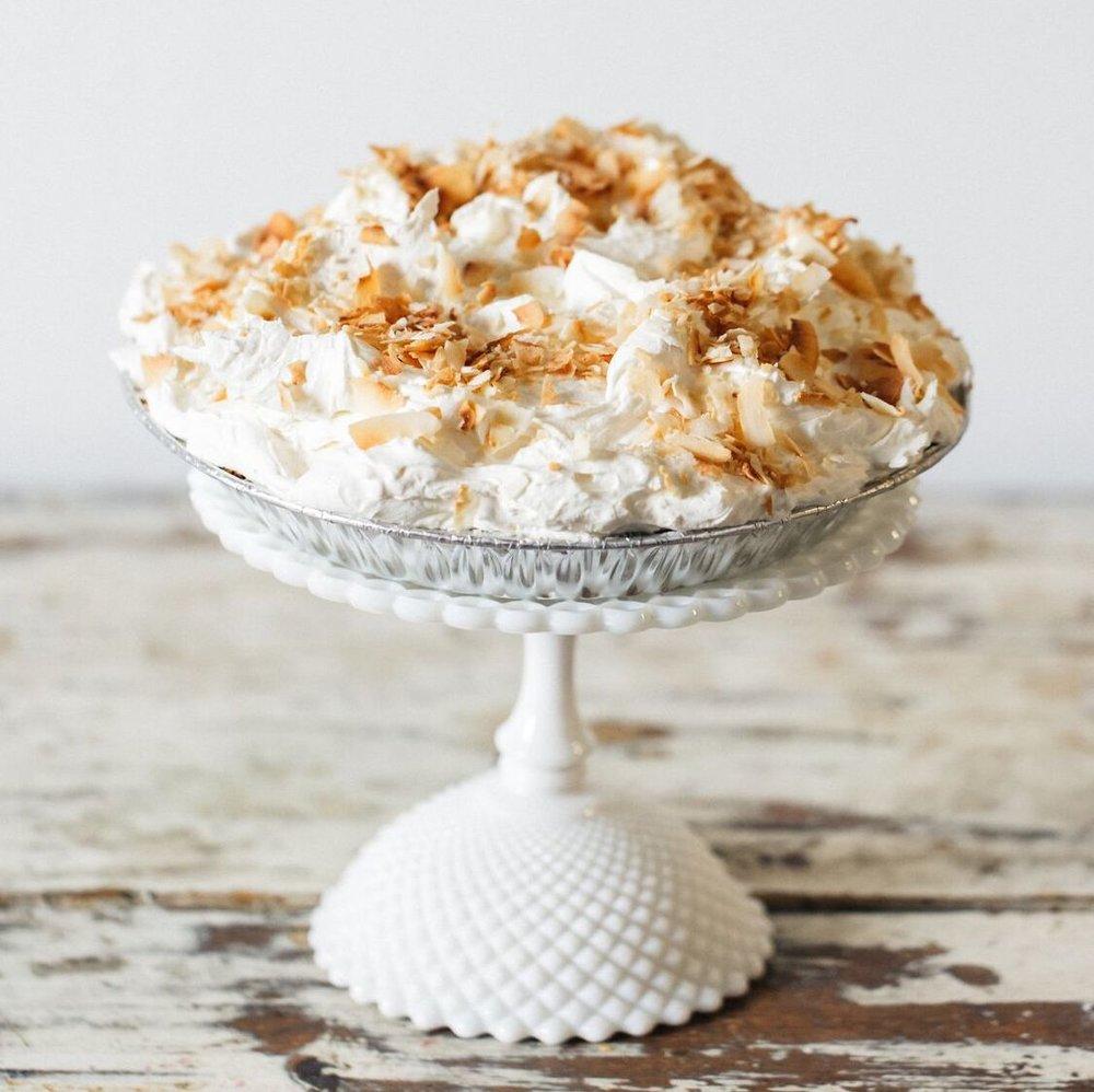 Coconut Cream- $30 -