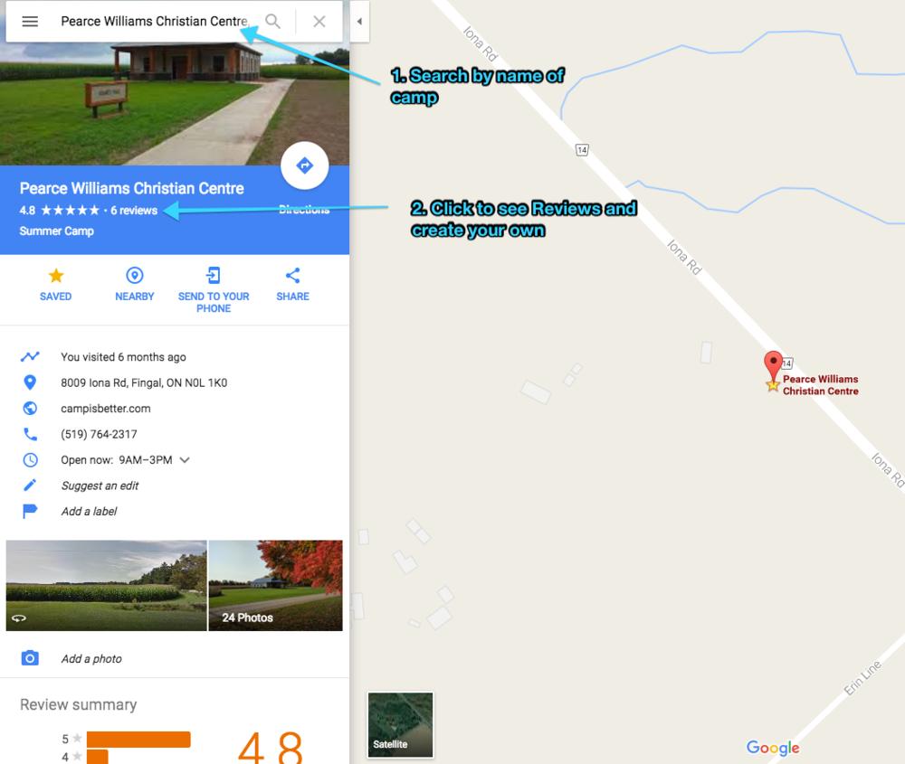 Camp - google reviews.png