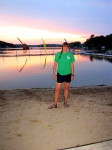 Jalisa at the Camp Waterfront