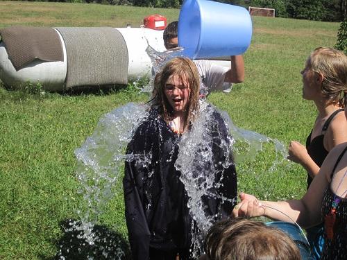Water fun! Cheap and spontaneous.