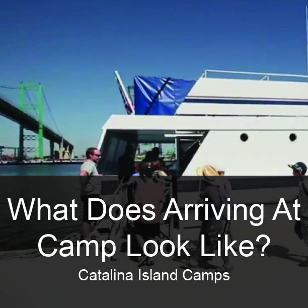 Catalina Island Camps Arrival