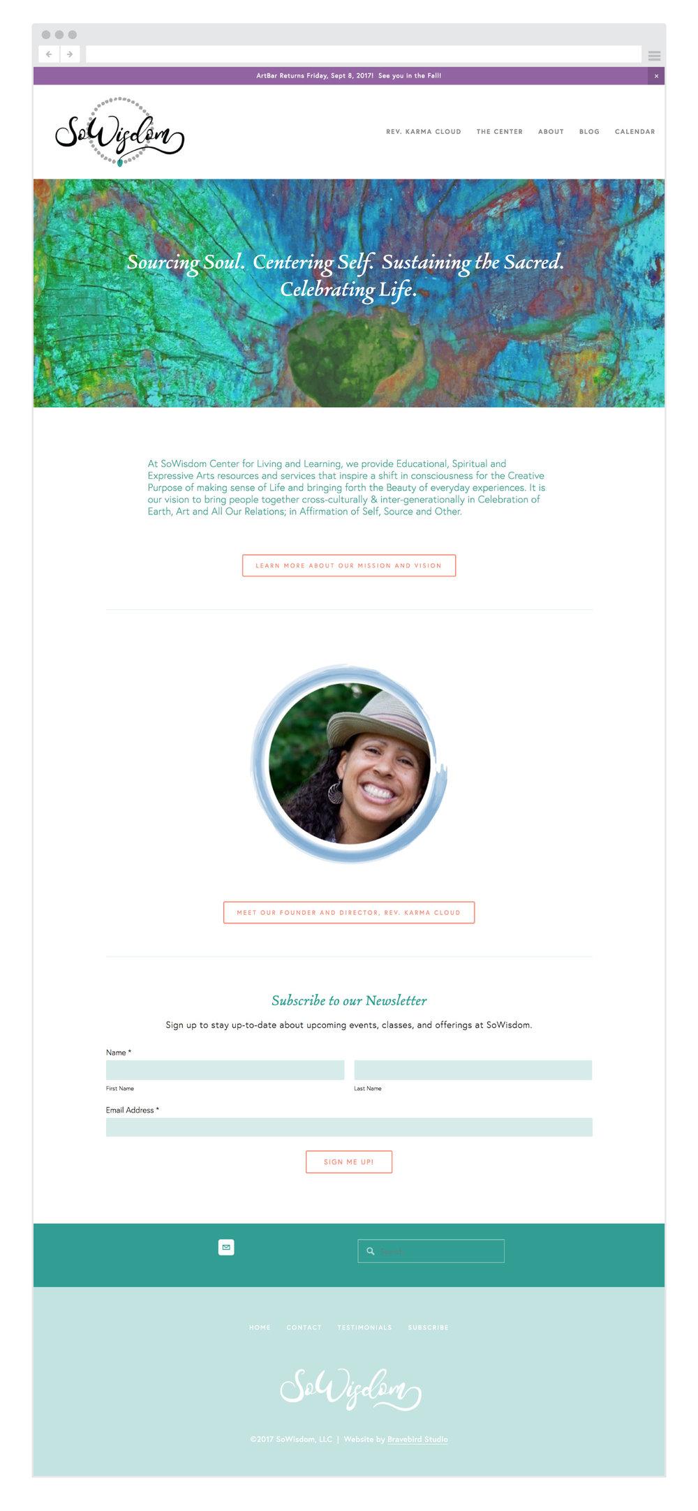 SoWisdom-homepage-Bravebird-Studio-web-design