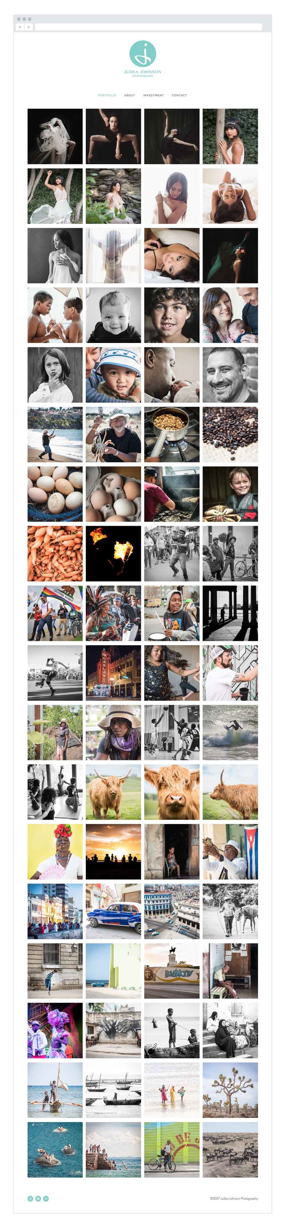 Judea-Johnson-Photography-portfolio-page-branding-webdesign