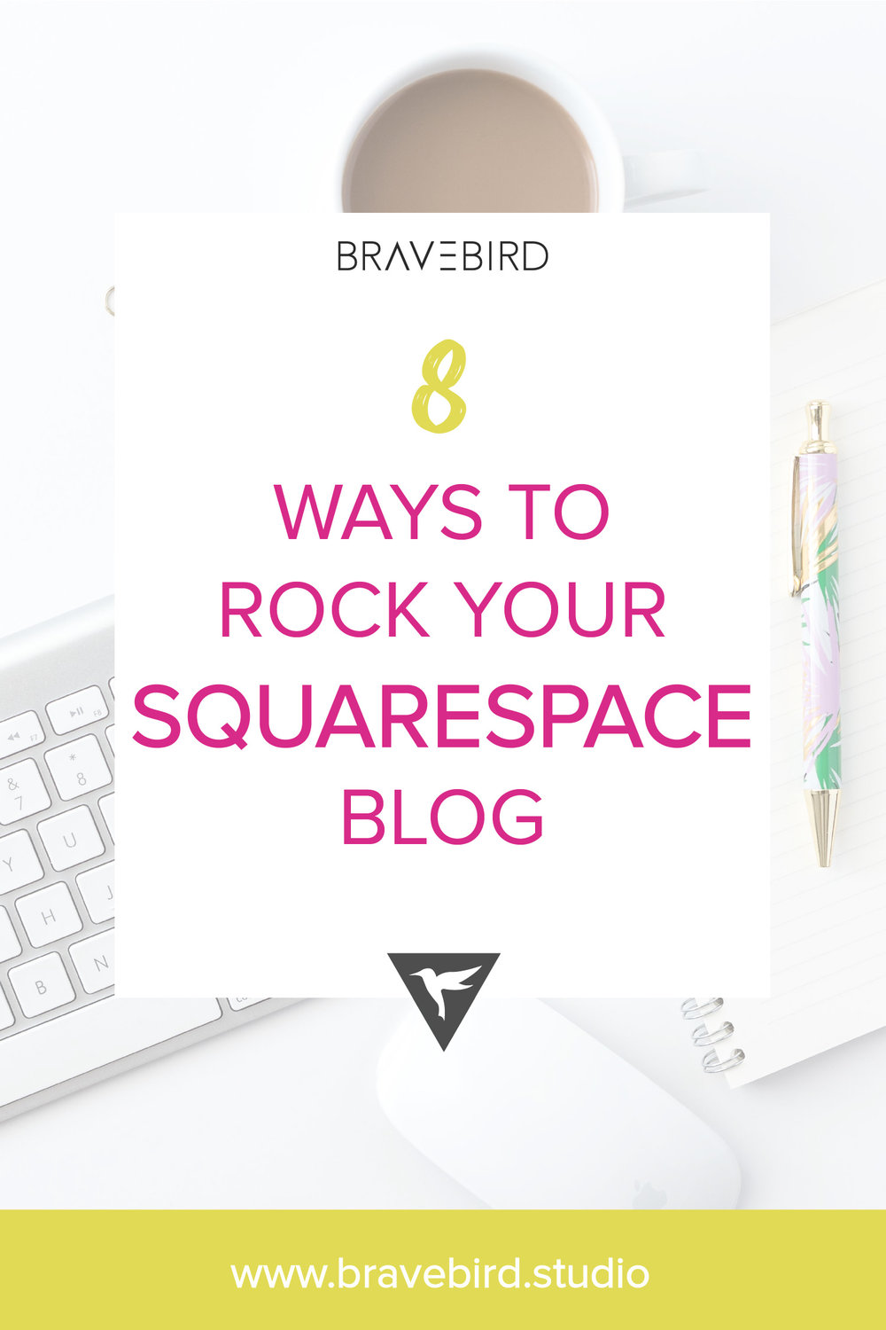 8 ways to rock your Squarespace blog | Bravebird Studio