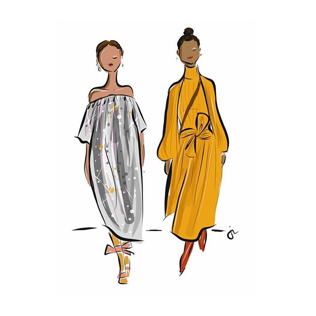 Just sitting here wishing I was wearing one of these gorgeous pieces by @ullajohnson, illustrated by @sophieandlili. . . . . . #fashionillustration #ullajohnson #prettydress #womensupportingwomen #risingtidesociety #illustratorsoninstagram #womeninbiz #bosslady #fempreneur #girlboss #lovelysquares #savvybusinessowner #goaldiggers #createcultivate #tnchustler #theeverygirl #designinspo #creativemind #webdesigner #brandingdesign #photog #livecolorfully #beingboss #darlingmovement #pursuepretty #thegramgang #flashesofdelight #abmlifeisbeautiful #creativelifehappylife #fashiongoals