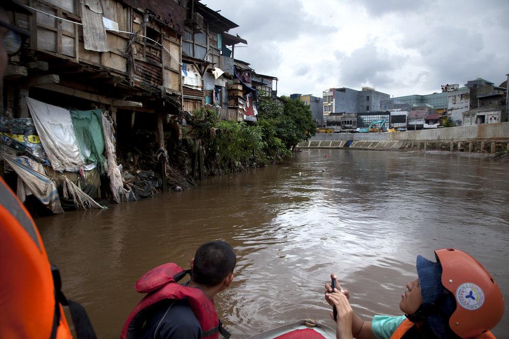Kampung Bukit Duri in Jakarta.
