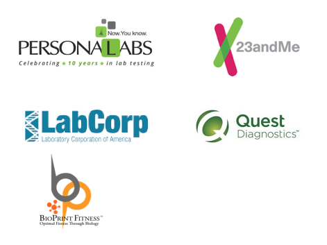 Lab - Existing lab integrations are done via third-party providers allowing direct integration with Quest diagnostics & LabCorp. Biomarker also delivers noninvasive salivary testing that is point-of-care approved and will be introducing microbiota and genome testing integrations in Q4 2017