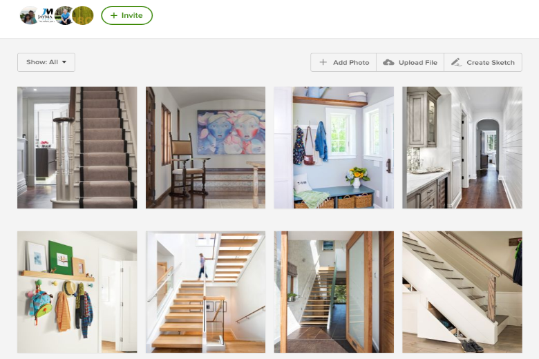 Houzz provides the Ideabook tool, which allows you to bookmark photos and share them with your builder. It helps you not only communicate your style, but it can also help you discover your favored aesthetic.