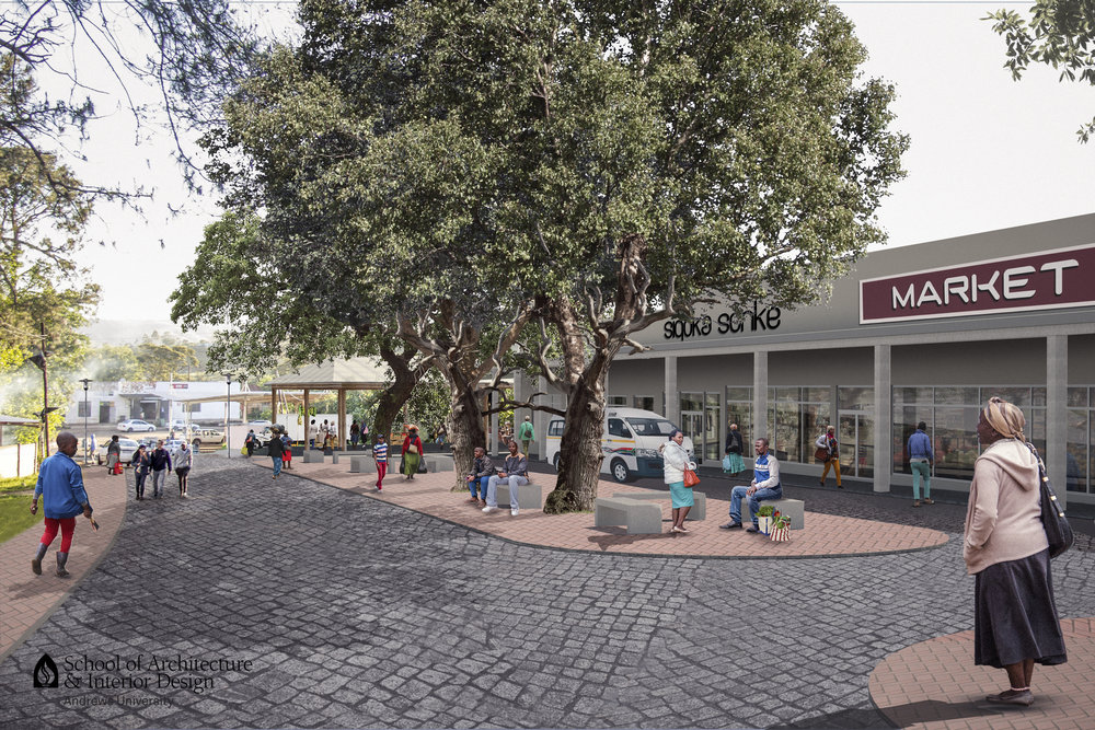 Newly designed inclusive commerical place in Umbumbulu