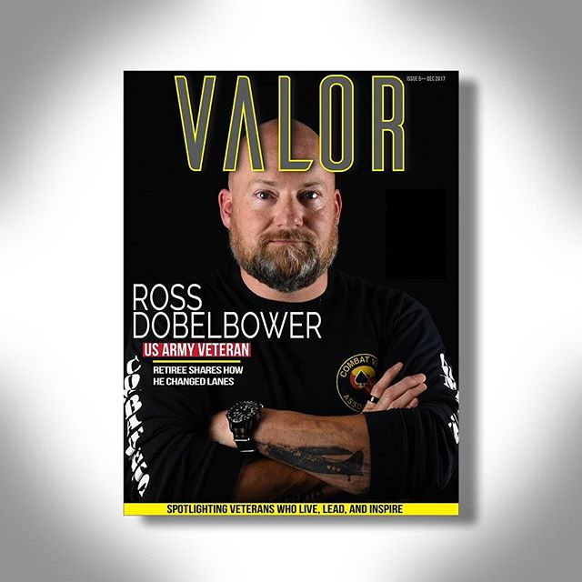 🇺🇲 Our next #ValorVet is Ross Dobelbower.  Ross sat down with Valor Magazine to tell us about how he changed career lanes after retiring from the @usarmy  __ 🎥 Video interview is coming soon! 🎬  __ ✔️ Follow @thevalormagazine  __  #valormagazine #valoraf #valor #inspirstion #transition #veteran #militaryretiree #usarmy #usmarines #usarmedforces #nationalguard #backtheblue #career #management #military #veterantransition #combatveteran