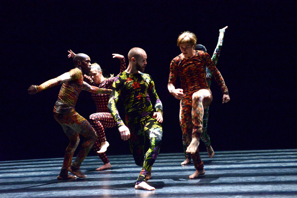 """Pond Skaters""   Thomas Hauert - TORONTO DANCE THEATRE  Photo by Guntar Kravis"