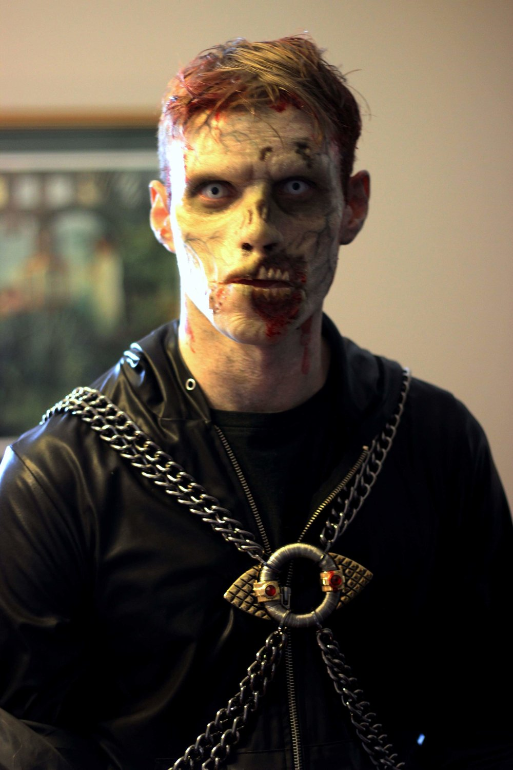 Zombie for Sickick Music Video  Photo and Makeup by Rhonda Morley Causton of Reel Twisted Effects