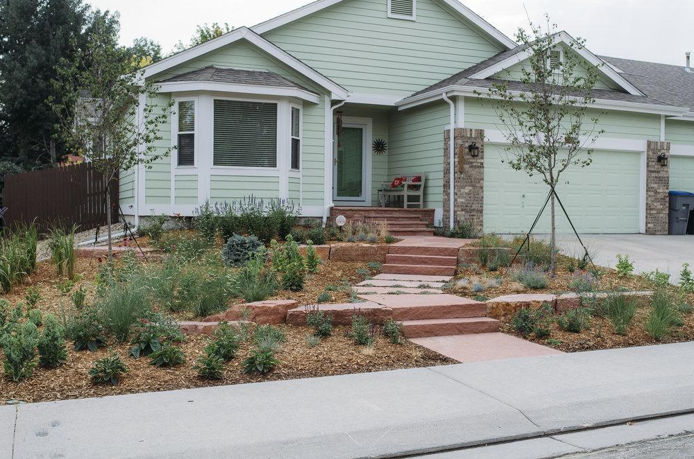 Dolce   A suburban home with a Colorado inspired garden