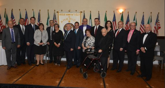 - The prestigious da Vinci Award of Excellence was presented to: Anthony J. Bruno (Community Leadership); Joseph T. Emanuele (Community Leadership); Deacon Russell Missureli (Community Leadership); Tonette Tarantino Walker (Community Leadership); Prof. Joseph Mangiamele (Education); Representative Peter Barca (Government); CJ Martello (Journalism); Honorable John J. DiMott (Jurisprudence); John Salza (Law); Luigi Caira, D.D.S. (Medicine); and, Kathryn A. Occhipinti, M.D. (Medicine).Guests enjoyed a delicious noon buffet featuring Italian dishes prepared by the Roma Lodge chefs. Home made Italian biscotti, cannoli and fresh fruit were served as dessert.