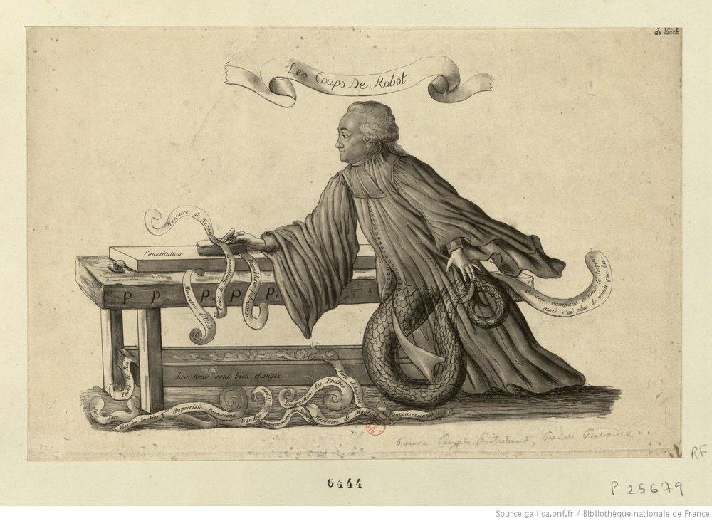 Le coups de Rabot, 1791.