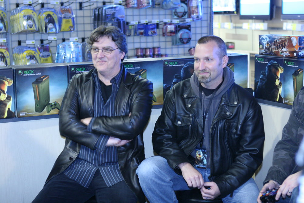 O'Donnell and Salvatori, rocking some serious leather.