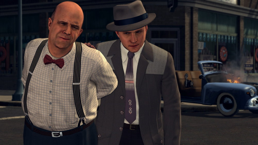 Strong ties in  LA Noire