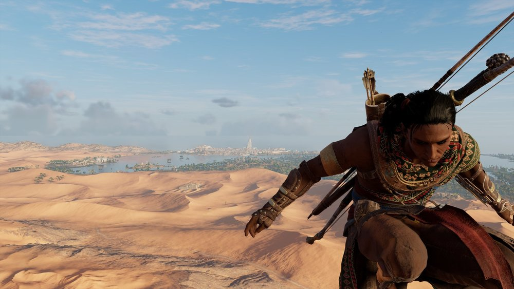 Bayek, ancient assassin hottie.