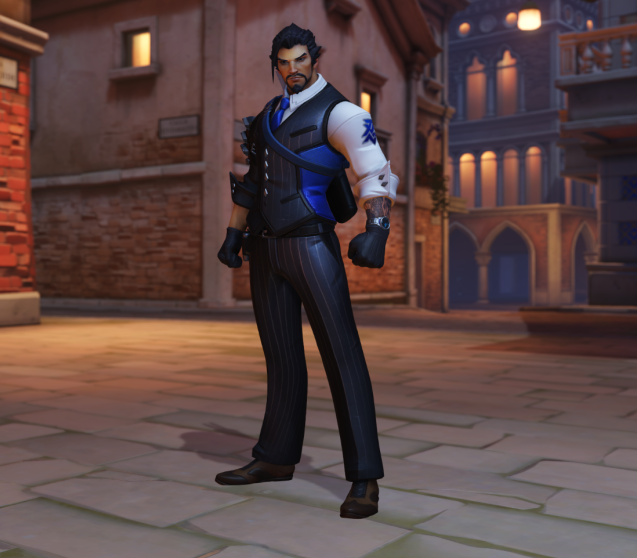 The new Hanzo skin is my favorite this time around.