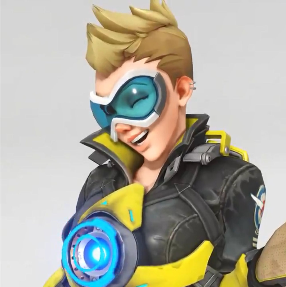 Not gonna lie, this Tracer skin has grown on me!