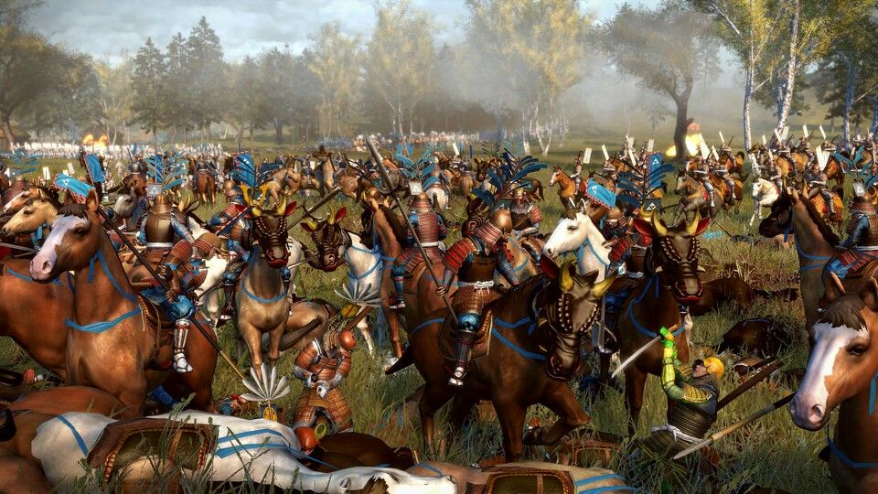 No matter what game it is, it never gets old watching your cavalry just demolish a formation of infantry like a scene straight out of Lord of the Rings