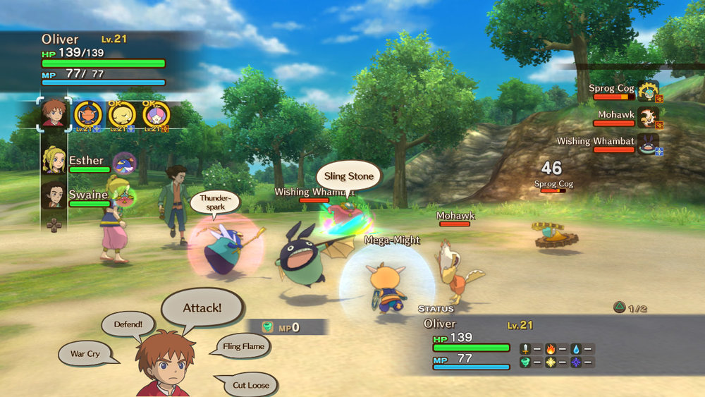 Ni no Kuni: Wrath of the White Witch  is an absolute delight that I'm currently loving.