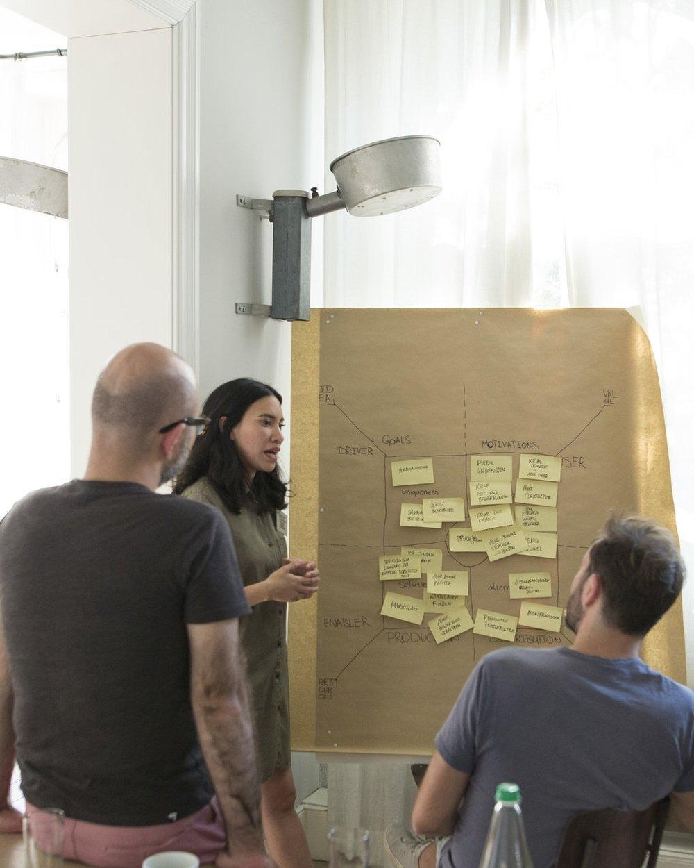 Wir arbeiten mit ambitionierten Startups - Das Silicon Pauli Patrons Program ist ein High Intensity Training für Startups - kostenlos. Wir arbeiten zwei Tage lang sehr intensiv mit 6 Gründerteams und lassen sie am Ende vor Publikum pitchen.
