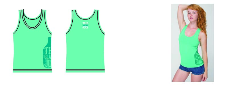 Glass Jug Women's Tank Top