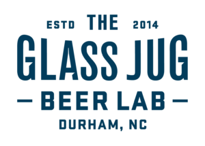 Glass Jug Brewery Beer Lab Logo