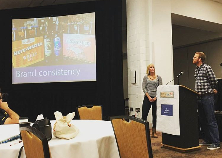 Presenting at the NC Craft Brewer's Conference