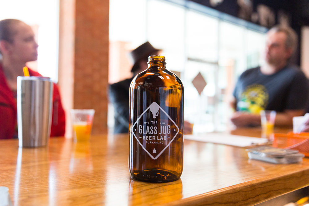 GROWLERS - Choose any beer or cider from the draft list and have your growler filled using counter-pressure technology to ensure freshness, stable carbonation, and a longer shelf life for your favorite craft beer or cider. Or, join our Growler Club to get a 32-ounce refill every month!