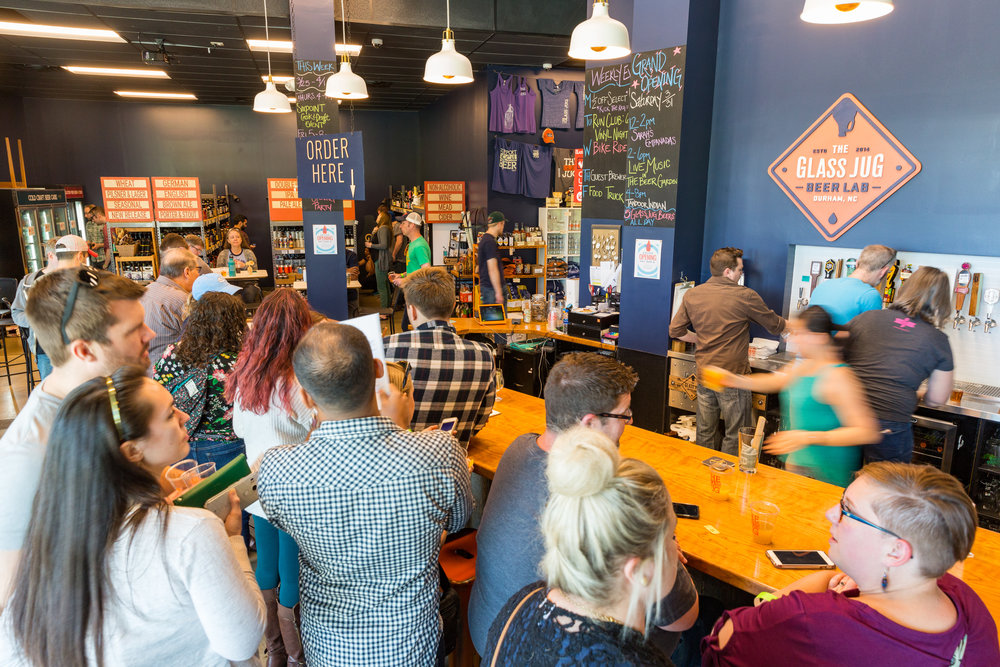 Upcoming Events - We host a variety of beer events & non-beer events alike. Join us for our weekly run or cycling club, or compete in our weekly disc golf league. We also host a knitting club, trivia, all-female beer education events, and a vinyl record night, in addition to tap takeovers, cask events, and food trucks every Friday evening!View Our Upcoming Events >>