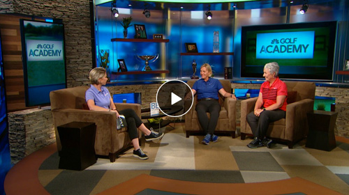 Be A Player Golf Channel Academy lead coaches Pia Nilsson and Lynn Marriott sit down with Lisa Cornwell to share stories about tips that helped their top players and more lessons from their new book, Be A Player.