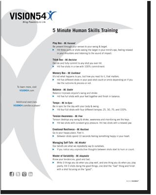 5 Minute Human Skills Training
