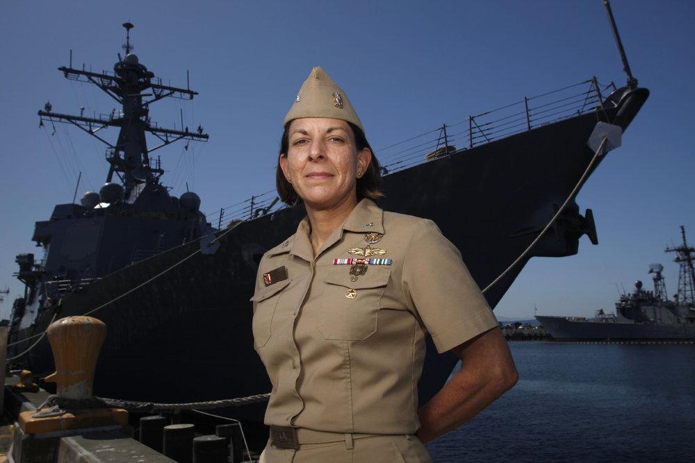 US Navy Captain Carol A. Hottenrott