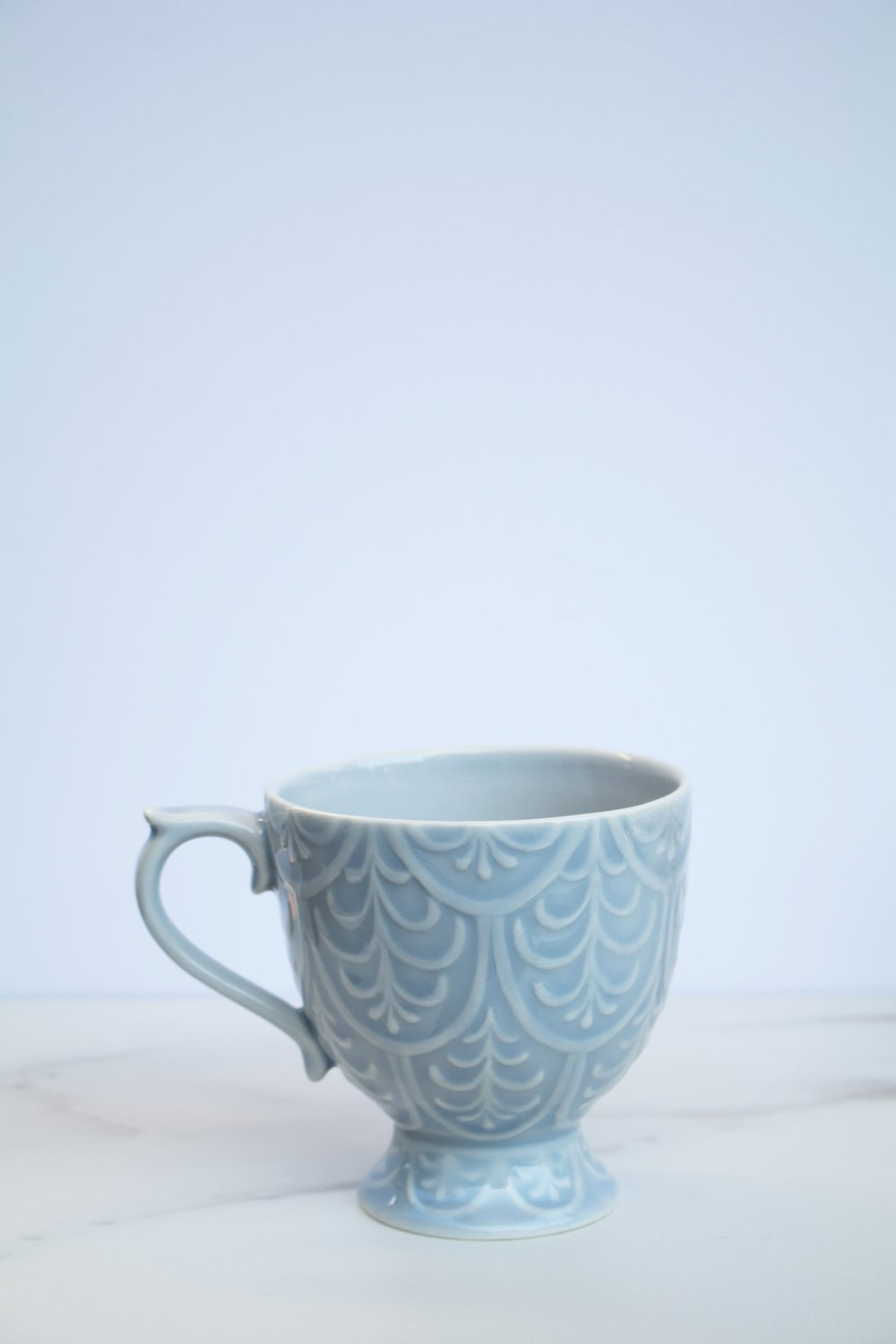 Tea Room Mug Anthropologie - Sky