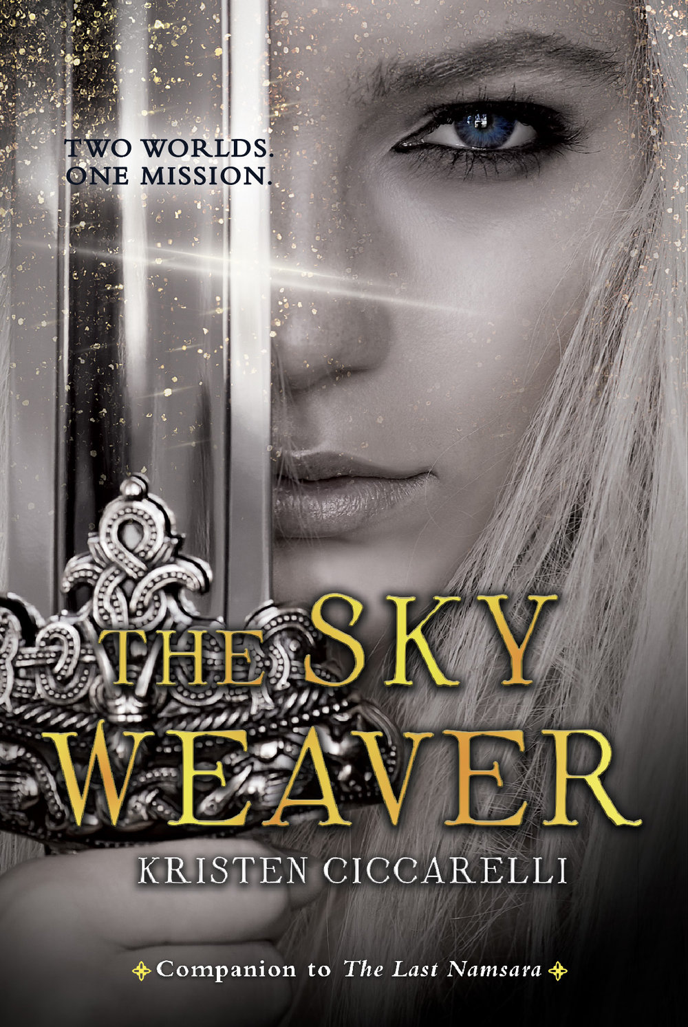 THE SKY WEAVER - Safire, a dutiful soldier, must stop Eris—a deadly pirate—from tracking down the last Namsara and delivering her into the hands of the enemy.